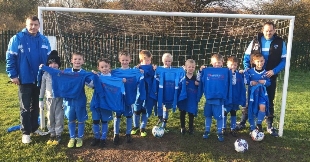 Milton United LMA Under 7s.