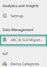ARC & SLA Migration Tool