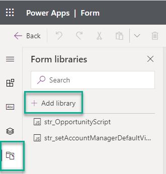 Add Javascript Library